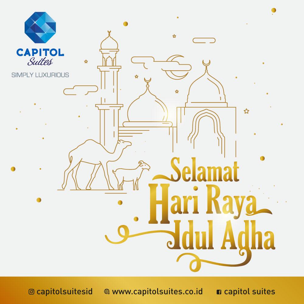 News Of Luxury Apartemen Jakarta - Capitol Suites - Eid Adha