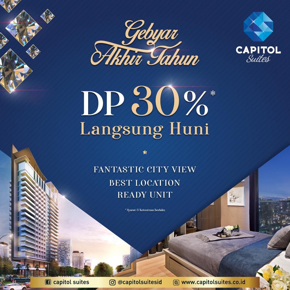 News Of Luxury Apartemen Jakarta - Capitol Suites Promo - November 2020