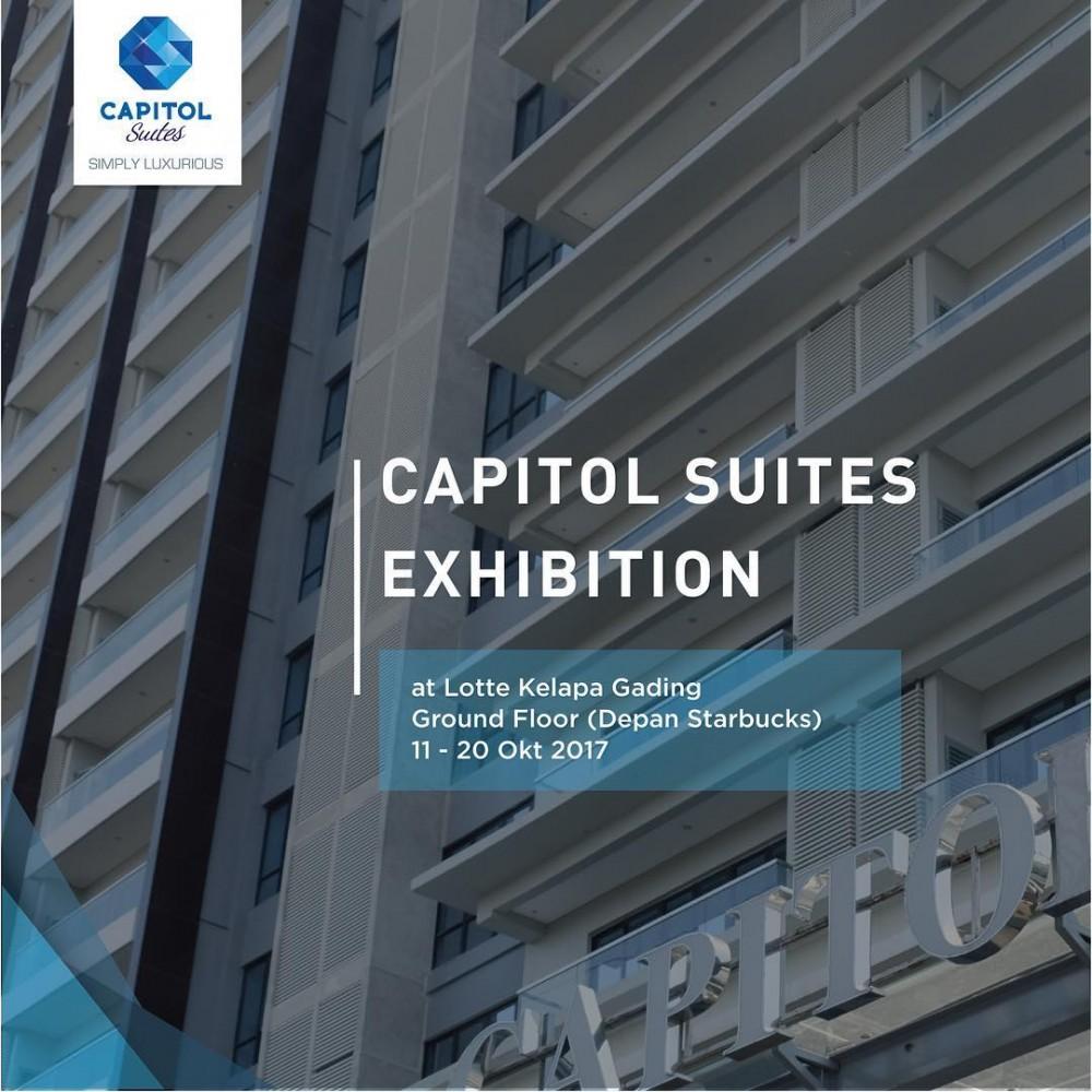 News Of Luxury Apartemen Jakarta - Capitol Suites Exhibition