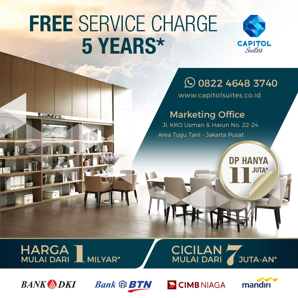 Free Service Charge 5 Years