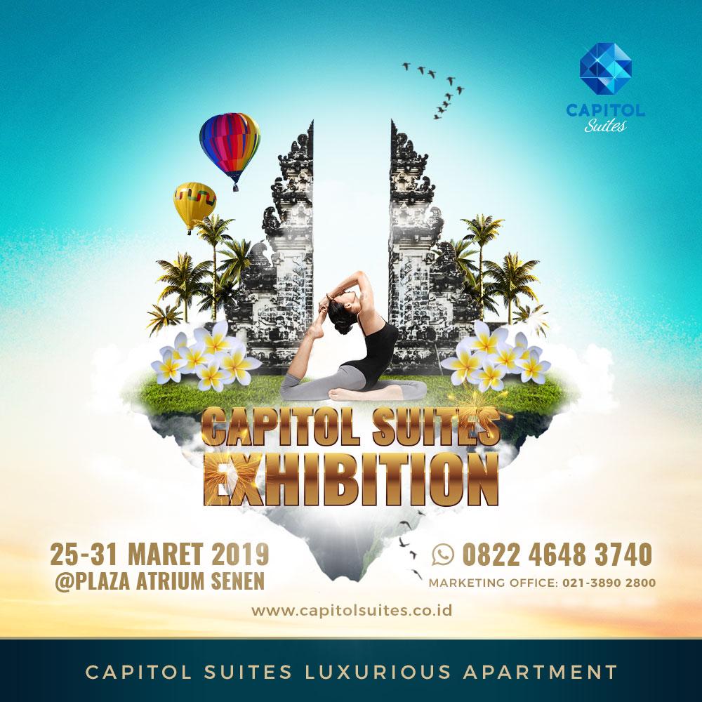 Capitol Suites Exhibition March 2019