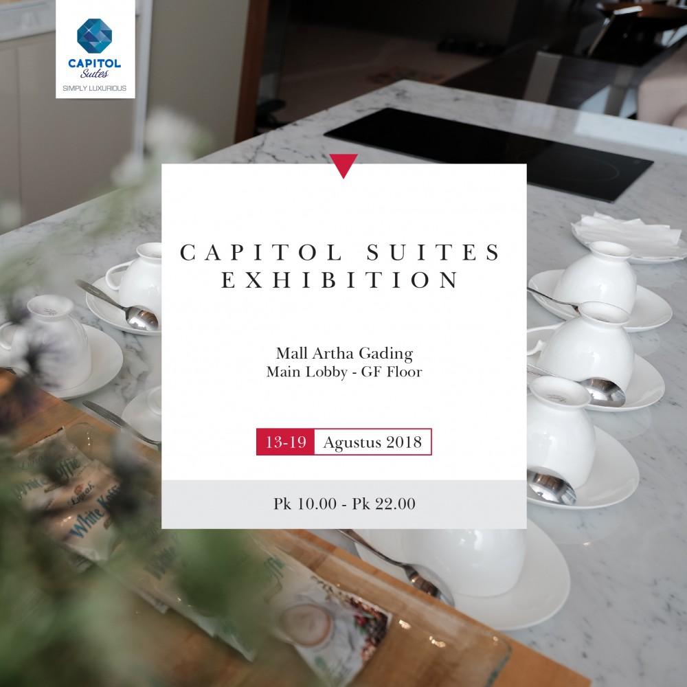 Capitol Suites Exhibition August 2018