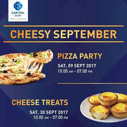 Cheesy September - Pizza Party & Cheese Treats