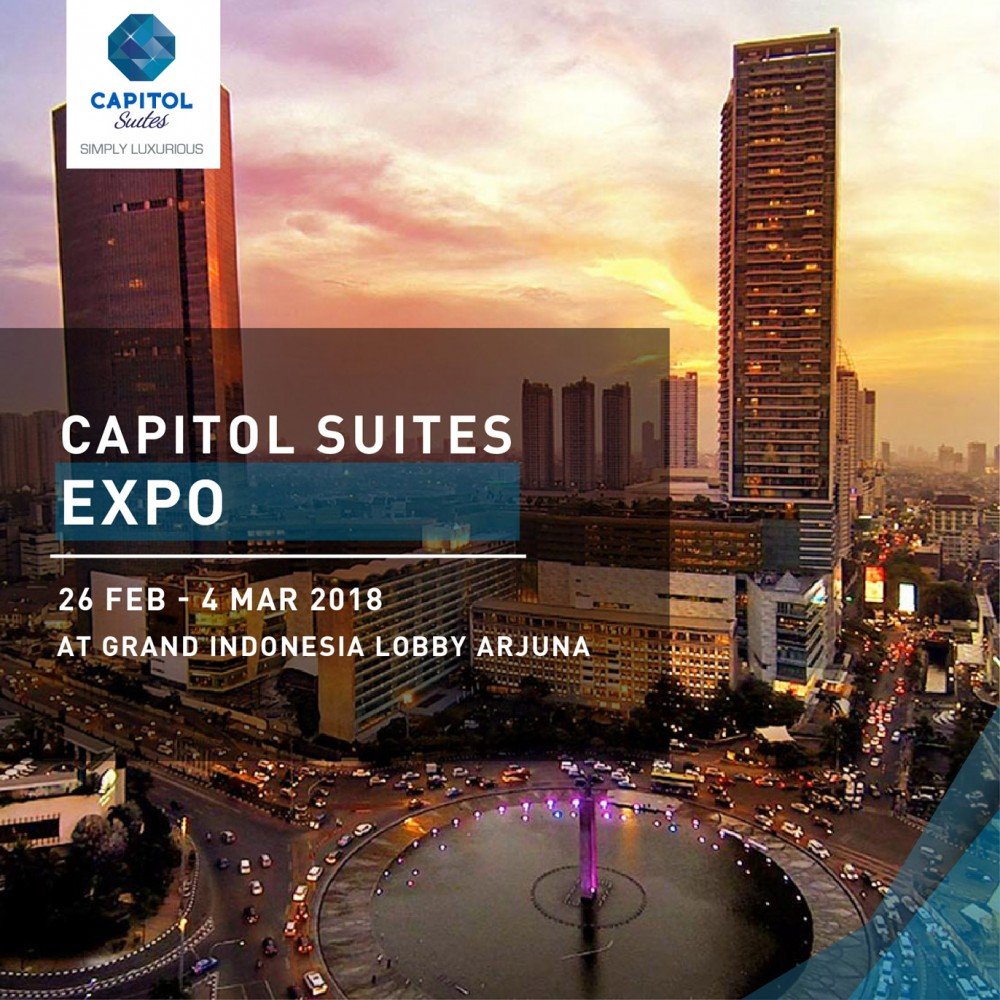 News Of Luxury Apartemen Jakarta - Capitol Suites Expo at Grand Indonesia